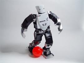 Conferencia y demostración de robots desarrollados en el Japón